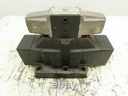 Vickers Dg5s4-1033c-53 Commande Directionnelle Hydraulique Vanne Solénoïde Dg4s4016c50