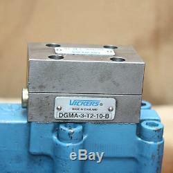 Vickers Dgma-3-b-10 Hydraulique Du Distributeur