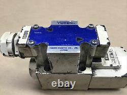 Yuken Valve Hydraulique Proportionnelle Directionnelle Dshg-04-2b2-d24-50 #75c20pr4